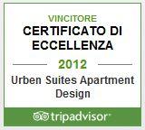 Urben - Certificato di eccellenza 2012 su Tripadvisor