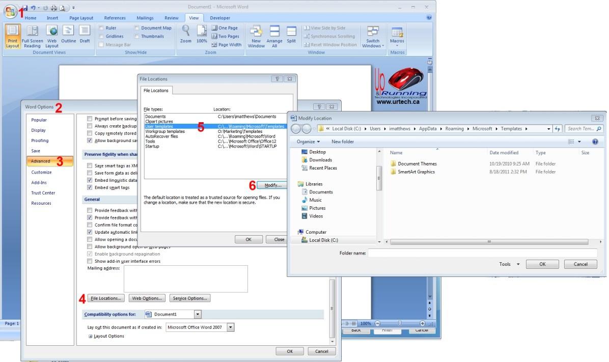 Microsoft Office Word 2007 Trial Problem?