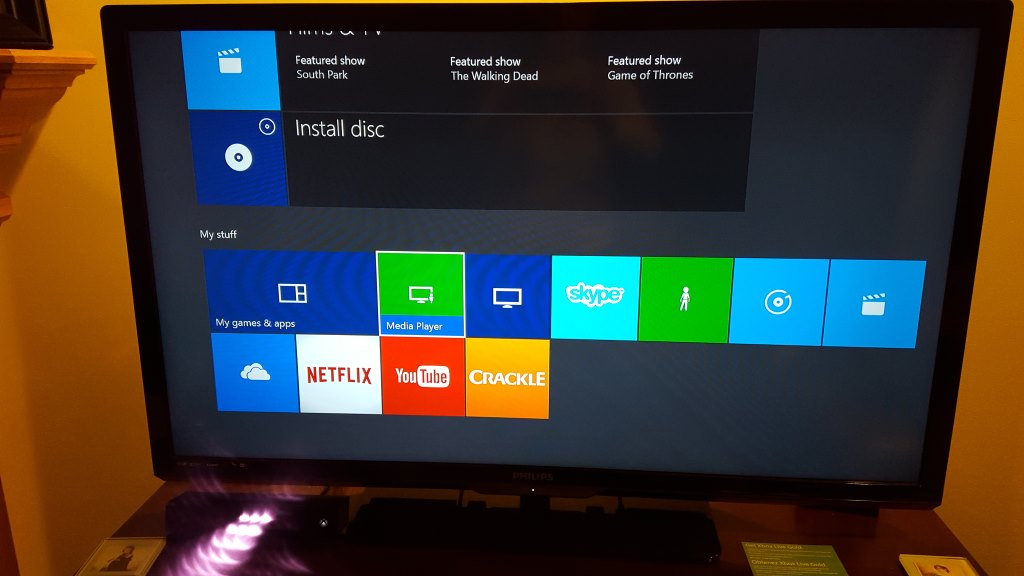 how to connect pc to xbox one to play music