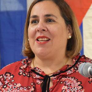 Ana Silvia Rodriguez - Permanent Representative of Cuba to the United Nations.