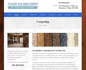 floor tile and carpet maryland