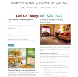Carpet Cleaning Lancaster CA