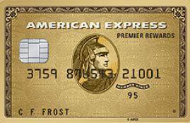 AMEX Premier Gold Rewards (PRG)-a local gold