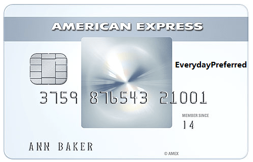AMEX Everyday Preferred (EDP)--you are my only one