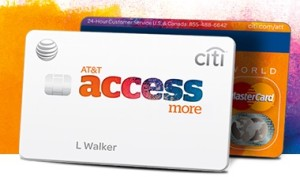 """Under the official website, update the application link"" Citi AT&T Access More--to send mobile phone + online shopping God cards"