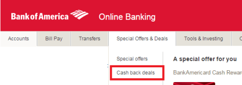 Guide for using the BOA Cashback Deals
