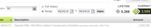 【9/27更新:SB可用了,deal消失】Swagbucks+捐款=倒赚+