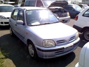 Used Nissan March 2001