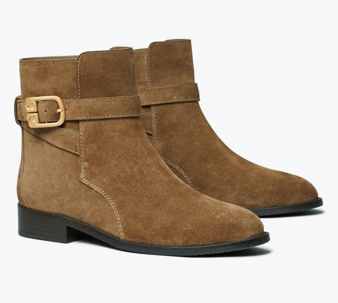 Brooke Suede Ankle Boot