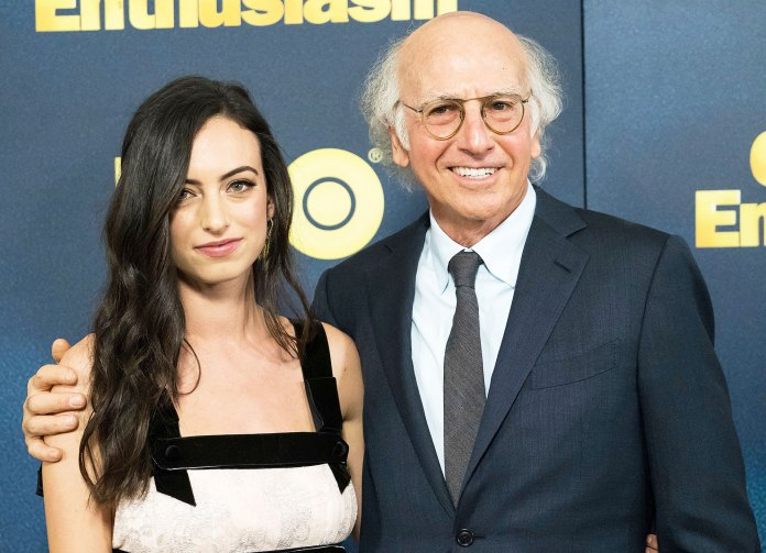 Cazzie David and Larry David Cazzie David Recalls Shaking Uncontrollably in Dad Larry David Arms After Pete Davidson Moved on With Ariana Grande