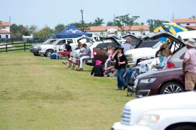 A crowd enjoyed the USPA Eastern Challenge Final at Santa Rita Polo Farm.