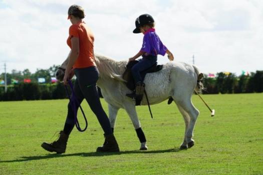 Kids polo at The Polo School. ©ChukkerTV.