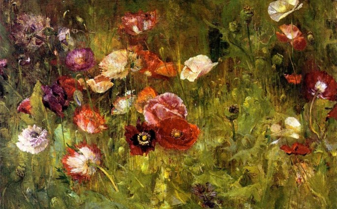 A_Bed_of_Poppies-Maria_Oakey_Dewing