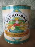 """Vintage"" 2000 Nitro Pak Survival Garden Seed Can"