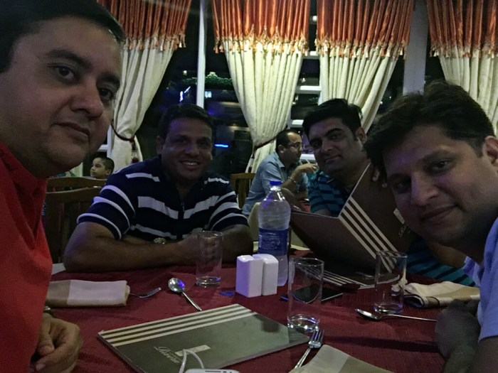 Dinner @ Radhika Beach Resort. North Indian and Chinese.