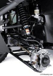 2010 Kawasaki Teryx 750 FI 4x4 Suspension