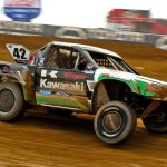 Kawasaki's Chad George in a Fierce Battle for Championship at Round 15 of Lucas Oil Off-Road Racing Series