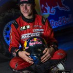 Mitchell DeJong Tests in GRC Lites Rally Car