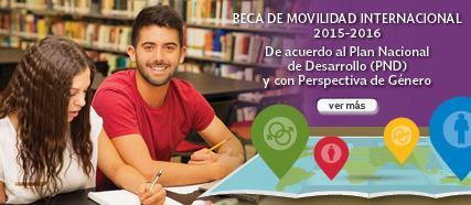 Beca de Movilidad Internacional 2015-2016