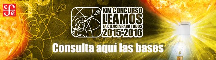 """XIV Concurso """"Leamos la Ciencia Para Todos 2015- 2016″ (Convocatoria)"""