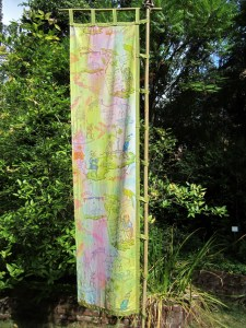 Hortus Curiosus art installation by Saya Moriyasu and Maki Tamura in Cascara Circle. It's part of the Mad Campus series  and it is a delightful addition to the  garden. I wish there were art installations  rotating through campus all the time.  http://madartseattle.com/exhibits/mad-campus/