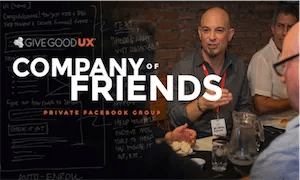 best-ux-design-communities-groups-给予Good UX Friends of Company