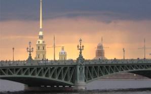 Beyaz gecelerde St.Petersburg