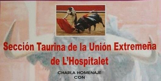 Col.loqui a la Sección Taurina Extremeña de l'Hospitalet