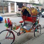 Dhaka bicycle rickshaw
