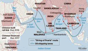The 21st Century Maritime Silk Road, the focus of my recent bout of New Silk Road research travels.