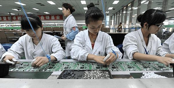 Shenzhen electronics factory