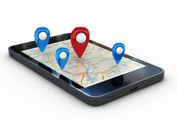 Smartphone-with-map