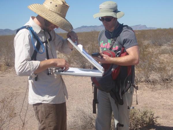 Archaeologists in Arizona
