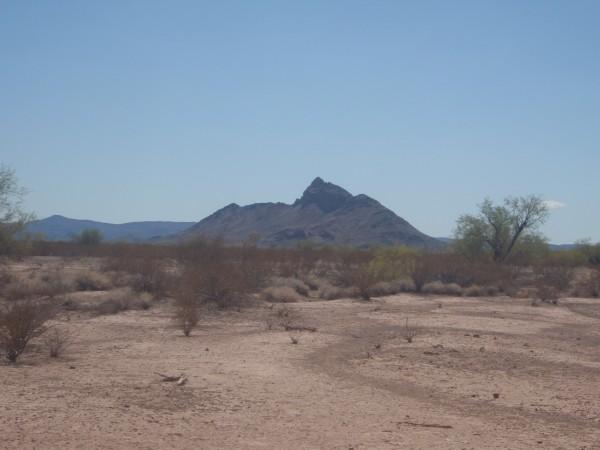 Arizona Desert Dust and Sky
