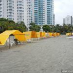 Beach Tents Bocagrande