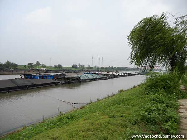 The barges on the canals and rivers will be one of the biggest dangers