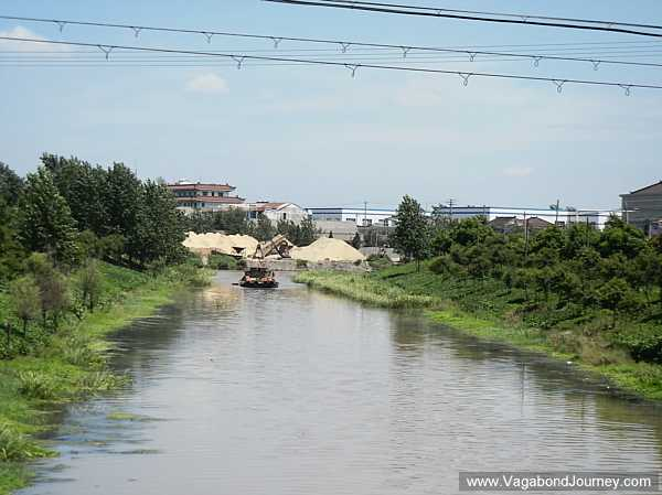 Canal in China