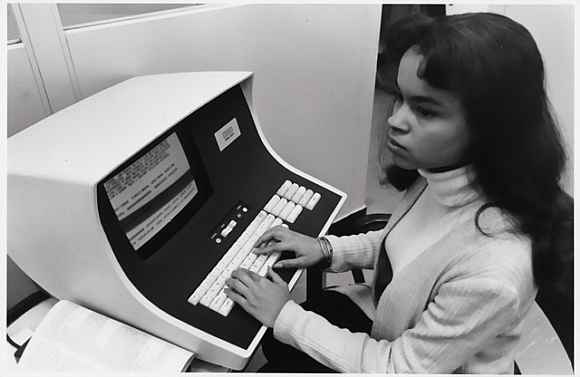 Accessing information via computer