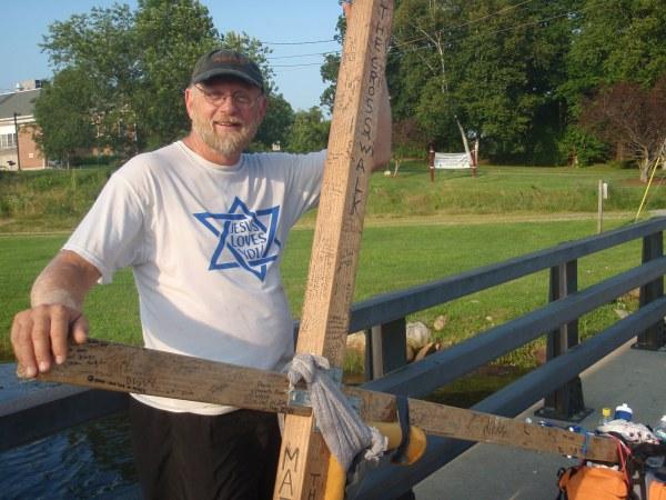 Tom Helling on the Cross Walk