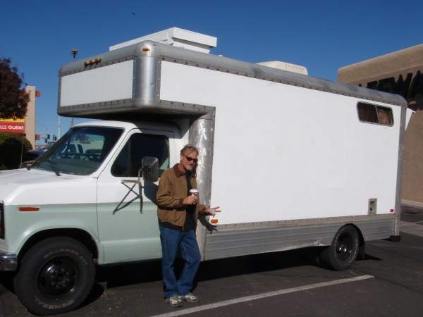 Homemade RV in Arizona