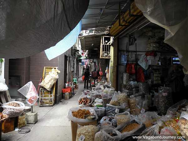 Macau back alley
