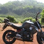 This was an excellent bike for the well maintained paved and very curvy roads of Northern Thailand.