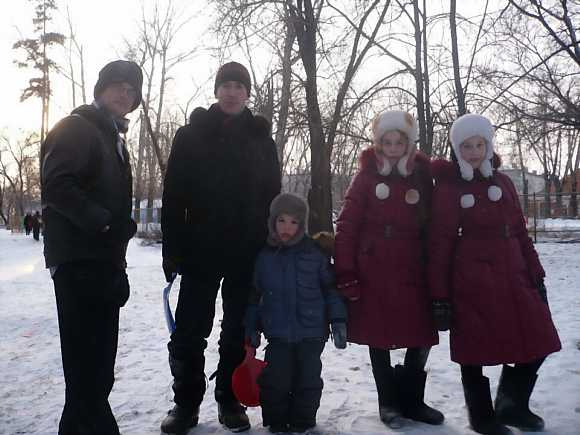 Russian family