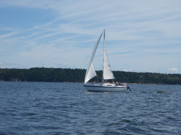 Sailing in Maine's Penopscot Bay