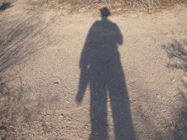 Archaeologist in the Desert