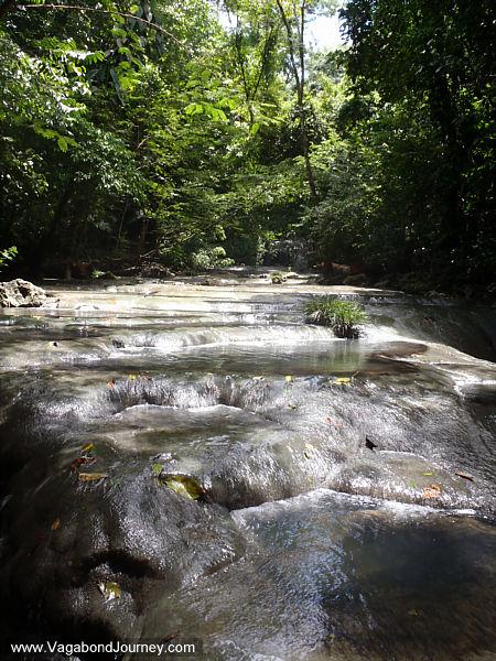 river over rocks
