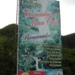 Sign Juan Curi Ecological Park