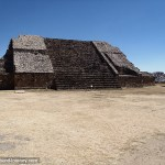 A temple at Monte Alban