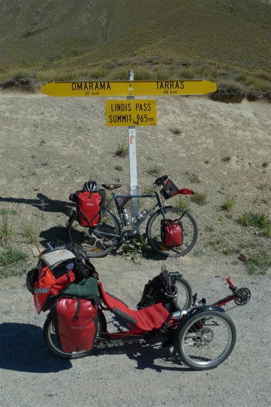 Funny bike that Luke began riding in New Zealand