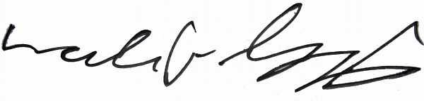 My digitalized signature.